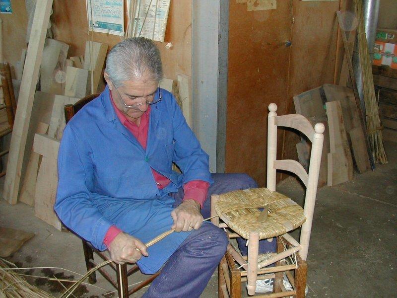 2008 octobre chauch patrimoine for Rempaillage de chaises